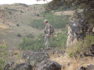 Dad Looking For Deer