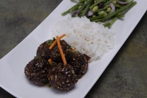 Fivespiced Elk Meatballs